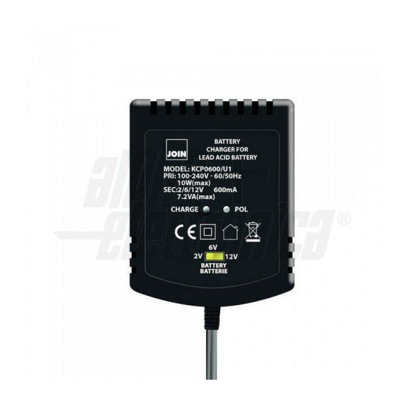KCP0600/U Carica batteria...