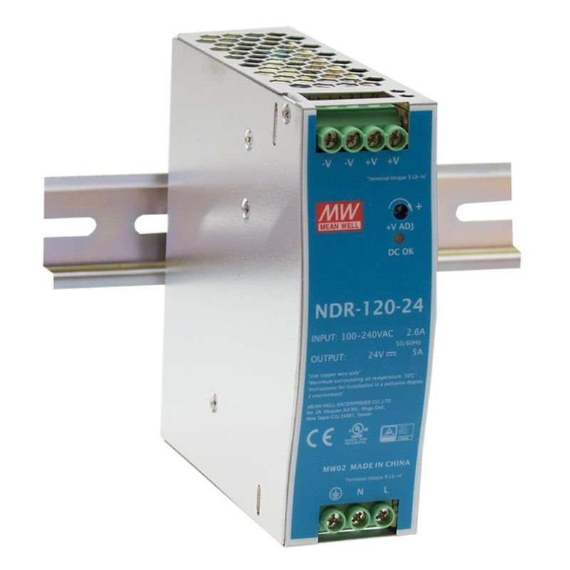 Mean Well NDR-120-24 Power...