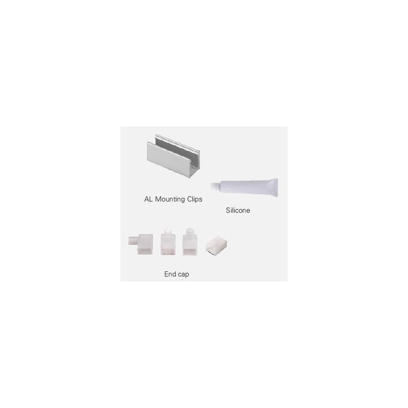 Kit Brackets Neon Flex 16x8...